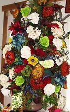 Grand Entrance Hall Renaissance Flower Gala Floral Silk Decor High End Customize