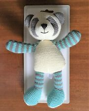 Walton Baby. Paddy Rattle. First Soft Toy for Babies/Infants. Knitted.