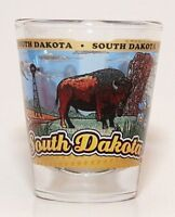 SOUTH DAKOTA STATE WRAPAROUND SHOT GLASS SHOTGLASS
