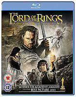 THE LORD OF THE RINGS - THE RETURN OF THE KING BLU-RAY (2010) - NEW & SEALED UK