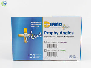 DEFEND +PLUS DISPOSABLE PROPHY ANGLES PA-6000/ FIRM CUP PURPLE LATEX FREE 100/BX