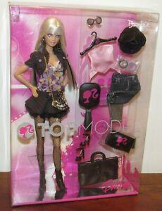 Top Model Barbie Doll 2007 NRFB #M2977 Platinum Blonde Model Muse Body