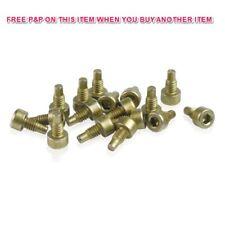 20 x XLC pedale pin di ricambio PD-M09 M4 7.5 mm GOLD può soddisfare altre marche Pedale