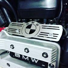 BMW K75 Inyector Carril Cubierta Protector Cepillado Acero Inoxidable Cafe Racer Scrambler Personalizado