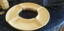 Longaberger Pottery Crescent Dish For Not So Lazy Suzy