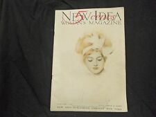 1909 JANUARY NEW IDEA WOMAN'S MAGAZINE - GREAT COVER & ADS - ST 1086