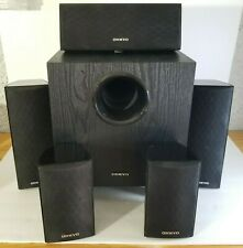 ONKYO Home Audio 5 (Five) Speakers & 1 (One) Subwoofer Surround - Center Speaker