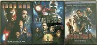 Iron Man 1, 2, & 3  Bundle Set DVD ( COMPLETE TRILOGY ) Brand New. Free Shipping