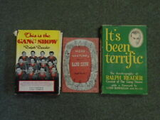 3 Volumes of Ralph Reader [containing 'This is the Gang Show', 'More Sketches fr