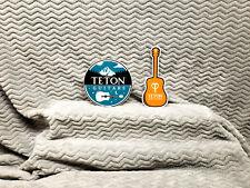 Teton Guitars 2 Sticker Set......
