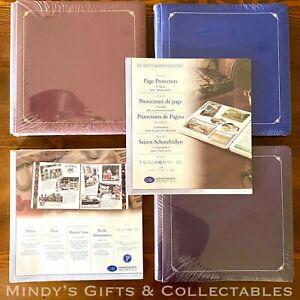 Rare Premiere Creative Memories Mulberry & Mahogany 12x12 Album Pages Protectors