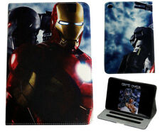 For Apple iPad Air 1-2 & iPad Pro 9.7 2017 Marvel DC Comics Iron man Case Cover
