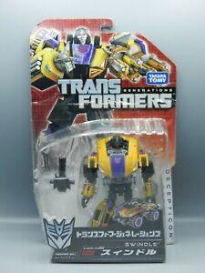 Japanese TAKARA Transformers Generations SWINDLE Fall of CYBRETON toy SEALED moc