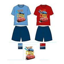 6 ANS ROUGE pyjama 2 pièces cars Disney short+tee shirt 100% coton NEUF l'unité