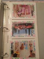 Over 100+ barbie collectors cards Mattel good condition