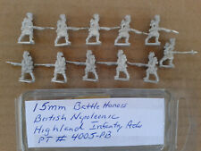15mm Battle Honors British Napoleonic Highland Infantry adv