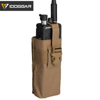 IDOGEAR Tactical Radio Pouch For Walkie Talkie Airsoft MBITR PRC148/152 MOLLE
