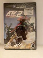 ATV: Quad Power Racing 2 (Nintendo GameCube, 2003) Brand New Factory Sealed.
