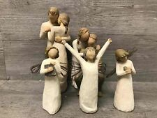 5Pc Willow Tree Religious Family Themed Figurines