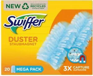 SWIFFER Staubmagnet Tücher, MEGA Nachfüllpack, 20 Stück