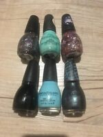 NEW Lot of 6 Assorted SINFUL COLORS Nail Polish Full Size Bottles - No Repeats