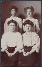Ancestors Postcard - Four Ladies Working For Greenwood Bros   RS5251