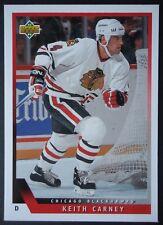 NHL 516 Keith Carney Chicago Blackhawks Upper Deck 1993/94