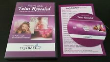 How To Make Tutus Revealed (DVD) 123Craft hobby sewing instructional no-sew