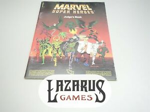 Marvel Super Heroes: Judge's Book (TSR)