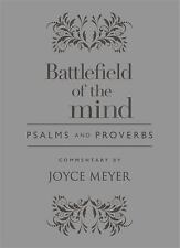 Battlefield of the Mind Psalms and Proverbs by Joyce Meyer Hardcover Book