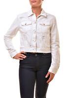 J BRAND Womens Harlow JB000512 Jacket Fallen Destruct White Size 26