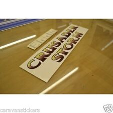 ELDDIS Crusader Storm Caravan Side Stickers Decals Graphics - SET OF