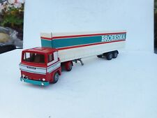 1:50 TEKNO SCANIA 141 TRUCK WITH TRAILER BROERSMA  N MINT SALE!!!!