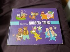 Favorite Nursery Tales Jo Jasper Turner Golden Books 1970 Edition Kids Fast Ship