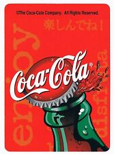 Coca-Cola Coke Bicycle Advertising Playing Cards Standard Deck Vintage