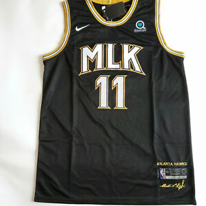 Trae Young 11 MLK City Edition Men's Stitched Jersey M to 2XL #