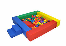Baby Ball Pit / Ball Pool / Activity Toys / Soft Play Equipment / Step and Sle