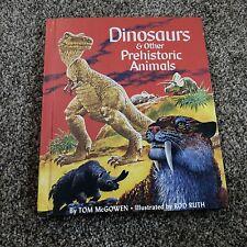 Dinosaurs & Other Prehistoric Animals - Tom McGowen - Rand McNally - 1978 Vtg