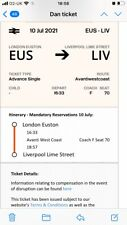 More details for 16:33 train euston to liverpool ticket today 10.06.21