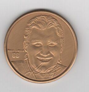 Mario Lemieux HIGHLAND MINT ELITE Medallion Coin Pittsburgh Penguins Hockey NHL