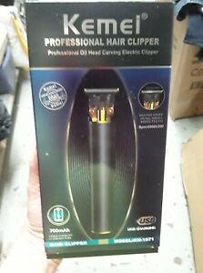 Kemei 1971 Professional Hair Clipper Portable Cordless Trimmer 100% Original