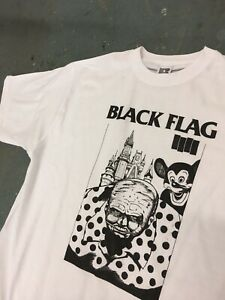 Black Flag Disneyland T-shirt Size M Never Worn Raymond Pettibon Punk