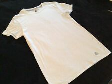 Starter Dri-Star Shirt Size Small Short Sleeve White
