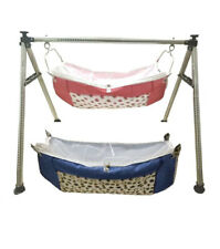 Smart Baby Products Round Pipe Steel Folding Baby Cradle KRT234