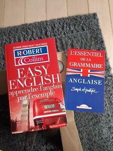 L'anglais grammaire et dictionnaire Robert Collins