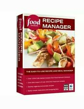 Food Network Recipe Manager Software for Windows & Mac - New in Sealed Box! DVD