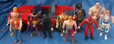 Chuck Norris Karate Kommandos Action Figure Lot Kenner Corvette Super Ninja 1986