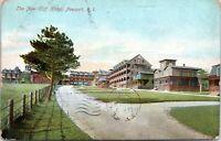 1907 New Cliff Hotel Newport Rhode Island Undivided Vintage Postcard BM