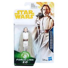 """STAR WARS FORCE LINK 2 - Luke Skywalker (Jedi Master) 3.75"""" Figure [SOLO][E1728]"""