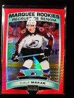 Cale Makar Rookie 2019-20 OPC O-Pee-Chee Platinum RED PRISM RC SP /199